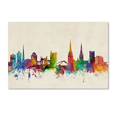 Trademark Fine Art ''Coventry England Skyline II'' by Michael Tompsett 30