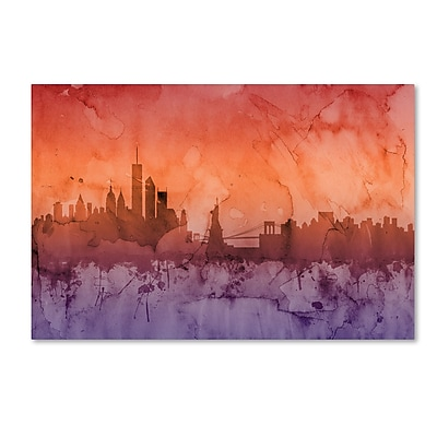 Trademark Fine Art ''New York Skyline IV'' by Michael Tompsett 16
