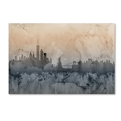 Trademark Fine Art ''New York Skyline VI'' by Michael Tompsett 16