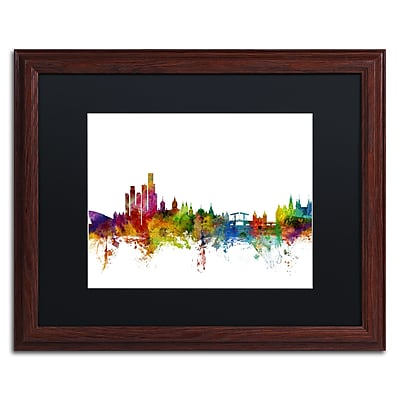 Trademark Fine Art ''Amsterdam Skyline II'' by Michael Tompsett 16