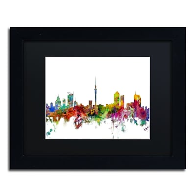 Trademark Fine Art ''Auckland New Zealand Skyline'' by Michael Tompsett 11