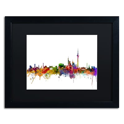 Trademark Fine Art ''Berlin Germany Skyline III'' by Michael Tompsett 16