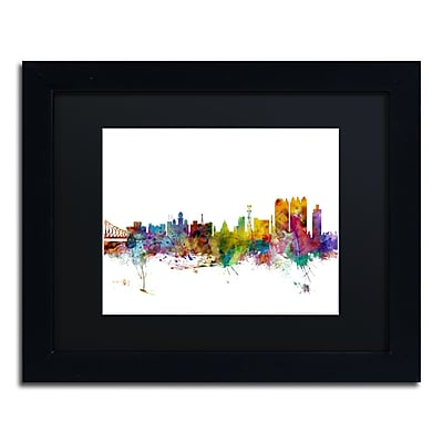 Trademark Fine Art ''Calcutta India Skyline'' by Michael Tompsett 11