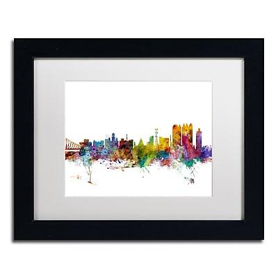Trademark Fine Art ''Calcutta India Skyline'' by Michael Tompsett 11