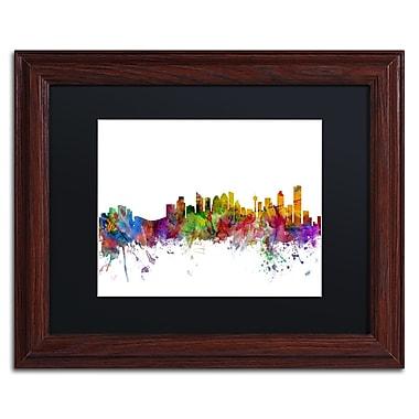 Trademark Fine Art ''Calgary Canada Skyline'' by Michael Tompsett 11