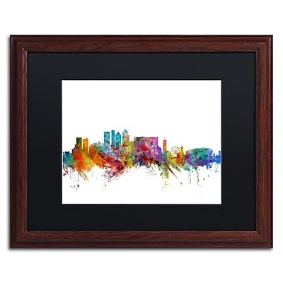 Trademark Fine Art ''Cape Town South Skyline'' by Michael Tompsett 16