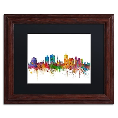 Trademark Fine Art ''Christchurch Skyline II'' by Michael Tompsett 11