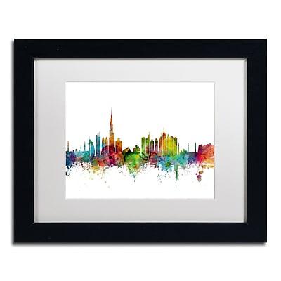 Trademark Fine Art ''Dubai Skyline'' by Michael Tompsett 11