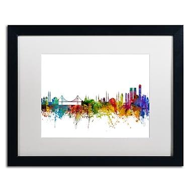 Trademark Fine Art ''Istanbul Turkey Skyline II'' by Michael Tompsett 16