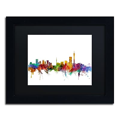 Trademark Fine Art ''Johannesburg South Africa Skyline'' by Michael Tompsett 11