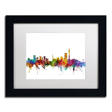 Trademark Fine Art ''Johannesburg South Africa Skyline'' by Michael Tompsett 11
