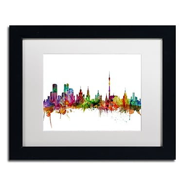 Trademark Fine Art ''Moscow Russia Skyline'' by Michael Tompsett 11