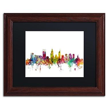 Trademark Fine Art ''Perth Australia Skyline'' by Michael Tompsett 11
