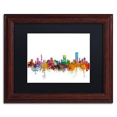 Trademark Fine Art ''Pretoria South Africa Skyline'' by Michael Tompsett 11
