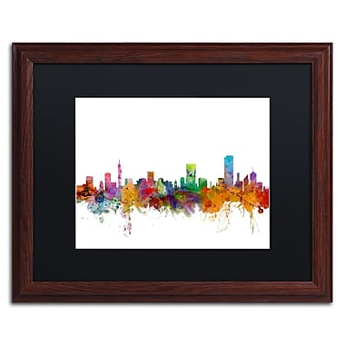 Trademark Fine Art ''Pretoria South Africa Skyline'' by Michael Tompsett 16