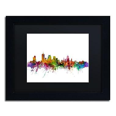 Trademark Fine Art ''Quebec Canada Skyline'' by Michael Tompsett 11