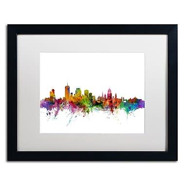 Trademark Fine Art ''Quebec Canada Skyline'' by Michael Tompsett 16