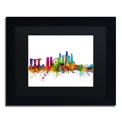 Trademark Fine Art ''Singapore Skyline II'' by Michael Tompsett 11