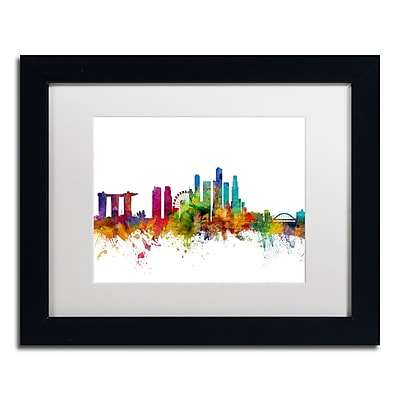 Trademark Fine Art ''Singapore Skyline II'' by Michael Tompsett 11