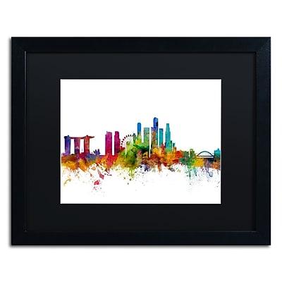 Trademark Fine Art ''Singapore Skyline II'' by Michael Tompsett 16