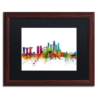 Trademark Fine Art ''Singapore Skyline II'' by Michael Tompsett 16