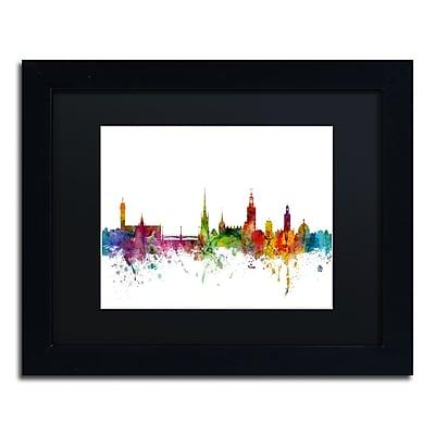 Trademark Fine Art ''Stockholm Sweden Skyline'' by Michael Tompsett 11
