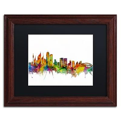 Trademark Fine Art ''Sydney Australia Skyline IV'' by Michael Tompsett 11