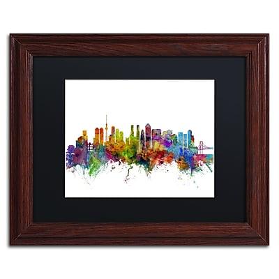 Trademark Fine Art ''Tokyo Japan Skyline'' by Michael Tompsett 11