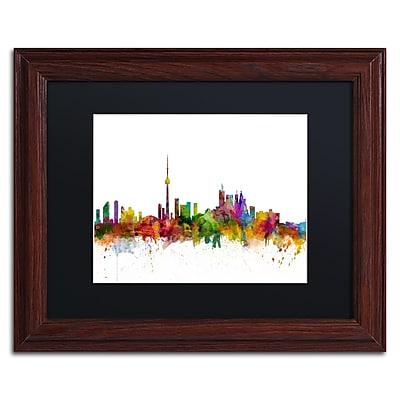Trademark Fine Art ''Toronto Canada Skyline IV'' by Michael Tompsett 11