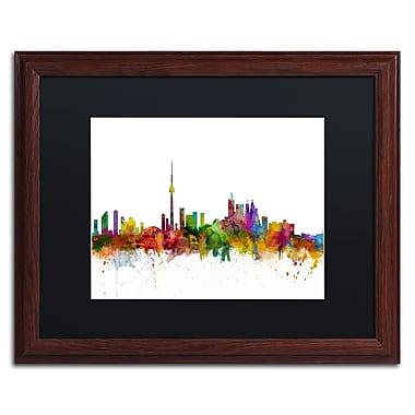 Trademark Fine Art ''Toronto Canada Skyline IV'' by Michael Tompsett 16