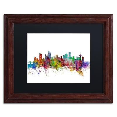 Trademark Fine Art ''Vancouver Canada Skyline'' by Michael Tompsett 11