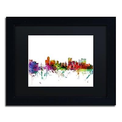 Trademark Fine Art ''Winnipeg Canada Skyline'' by Michael Tompsett 11