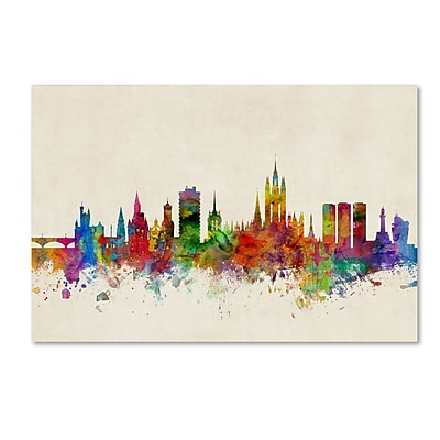 Trademark Fine Art ''Aberdeen Scotland Skyline'' by Michael Tompsett 12