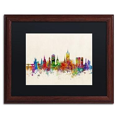 Trademark Fine Art ''Aberdeen Scotland Skyline'' by Michael Tompsett 16