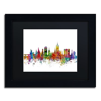 Trademark Fine Art ''Aberdeen Scotland Skyline II'' by Michael Tompsett 11