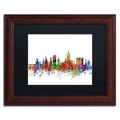 Trademark Fine Art ''Aberdeen Scotland Skyline II'' by Michael Tompsett 11