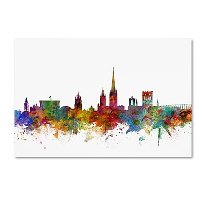 Trademark Fine Art ''Norwich England Skyline'' by Michael Tompsett 22