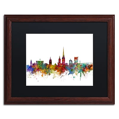 Trademark Fine Art ''Norwich England Skyline II'' by Michael Tompsett 16