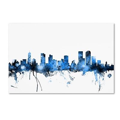 Trademark Fine Art ''Denver Colorado Skyline'' by Michael Tompsett 12