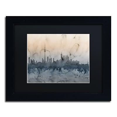 Trademark Fine Art ''Toronto Canada Skyline V'' by Michael Tompsett 11