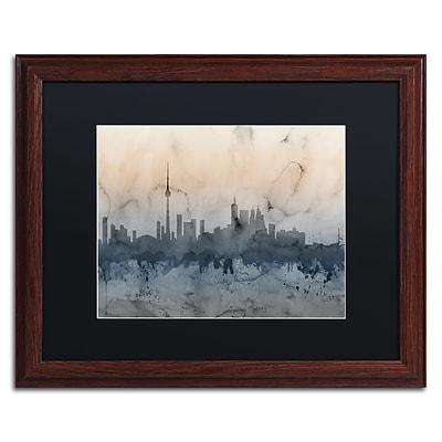 Trademark Fine Art ''Toronto Canada Skyline V'' by Michael Tompsett 16