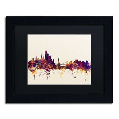 Trademark Fine Art ''New York Skyline IX'' by Michael Tompsett 11