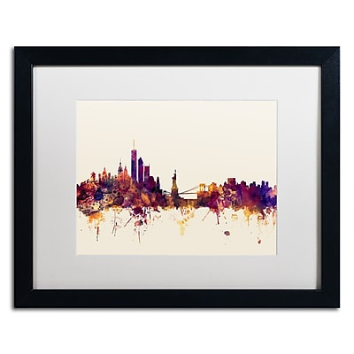 Trademark Fine Art ''New York Skyline IX'' by Michael Tompsett 16