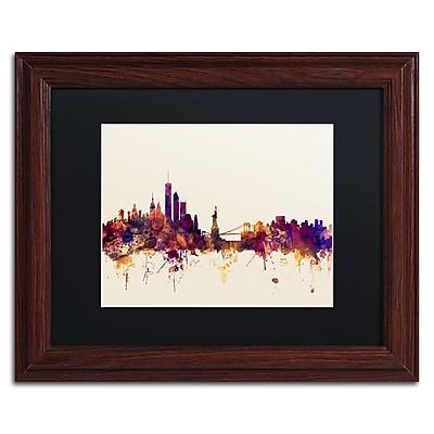 Trademark Fine Art ''New York Skyline IX'' by Michael Tompsett 11