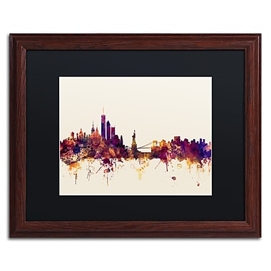 Trademark Fine Art ''New York Skyline IX'' by Michael Tompsett 16