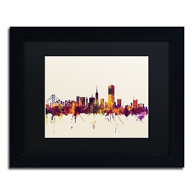 Trademark Fine Art ''San Francisco City Skyline IV'' by Michael Tompsett 11