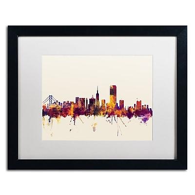 Trademark Fine Art ''San Francisco City Skyline IV'' by Michael Tompsett 16