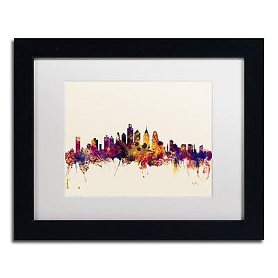 Trademark Fine Art ''Philadelphia Skyline IV'' by Michael Tompsett 11