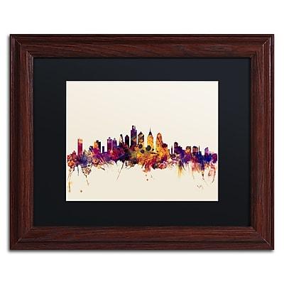 Trademark Fine Art ''Philadelphia Skyline IV'' by Michael Tompsett 11