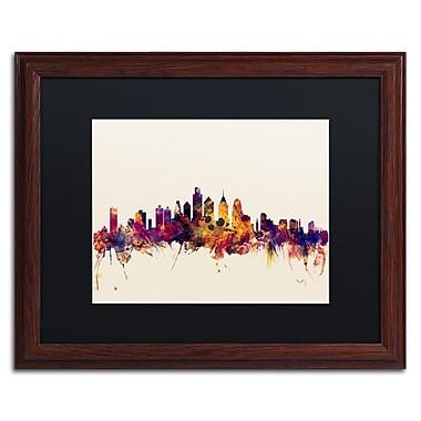 Trademark Fine Art ''Philadelphia Skyline IV'' by Michael Tompsett 16